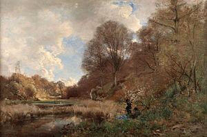 Périclès Pantazis - Périclès Pantazis, Summer Day at the River (1880)