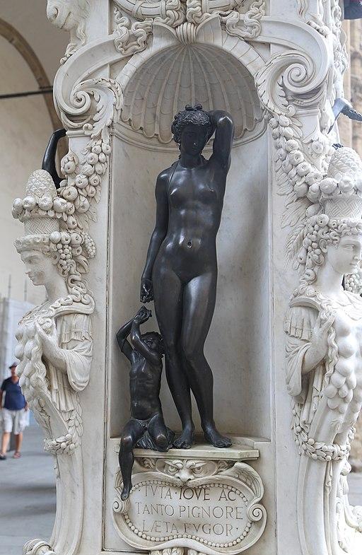 Perseus, Benvenuto Cellini, Loggia dei Lanzi Florenz-08