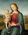 Perugino, studio of - Virgin and Child, circa 1515.jpg