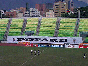 Petare F.C. - The Olimpico stadium of Deportivo Petare.