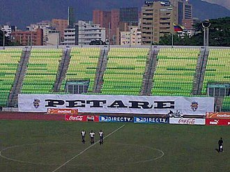 Deportivo Petare F.C. - The Olimpico stadium of Deportivo Petare.