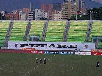 Petare F.C. - The Olimpico stadium of Deportivo Petare.
