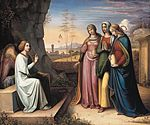 Peter von Cornelius - The Three Marys at the Tomb - WGA05274.jpg