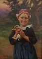 Petite bretonne par Théophile Deyrolle, collection Marie-anne Miniac, Rennes..jpg