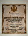 Pfarrkirche Unbefleckte Empfängnis Mariä, Steyrling, plaque1.jpg