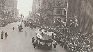 Philadelphia Liberty Loans Parade 1918 parade that spread influenza