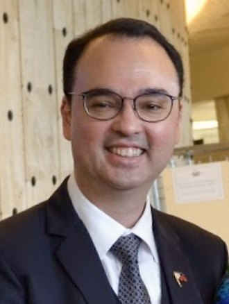 Alan Peter Cayetano - Cayetano in 2018