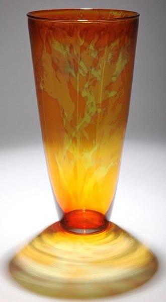 Photosensitive glass - Photosensitive glass vase