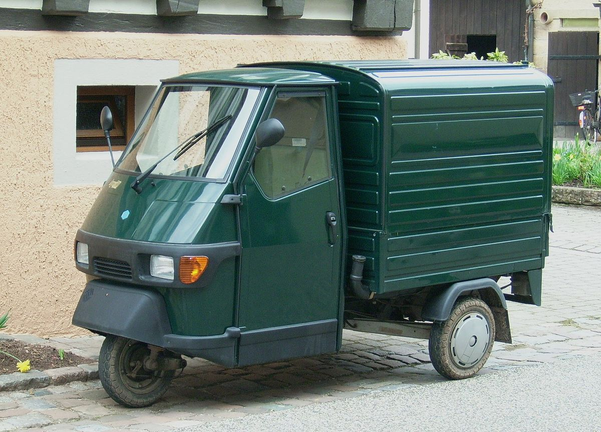 piaggio ape wikipedia la enciclopedia libre. Black Bedroom Furniture Sets. Home Design Ideas
