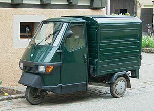 Piaggio Ape - An Ape Van
