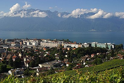 How to get to Vevey with public transit - About the place