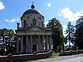Pidhirtsi Brodivskyi Lvivska-church of Sainted Joseph-front view.jpg