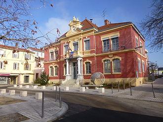 Pierre-Bénite - The town hall in Pierre-Bénite