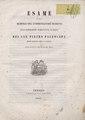 Pietro Paleocapa – Esame di una memoria del commendatore Manetti sull, 1845 - BEIC 6270396.tif