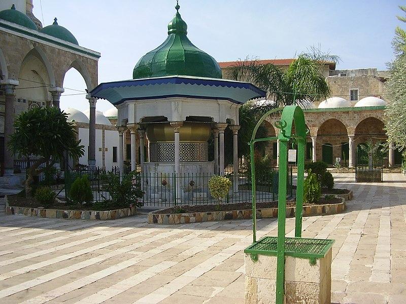 מזרקת רחצה בחצר מסגד אל ג'זאר