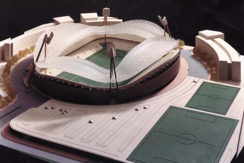 דגם האצטדיון