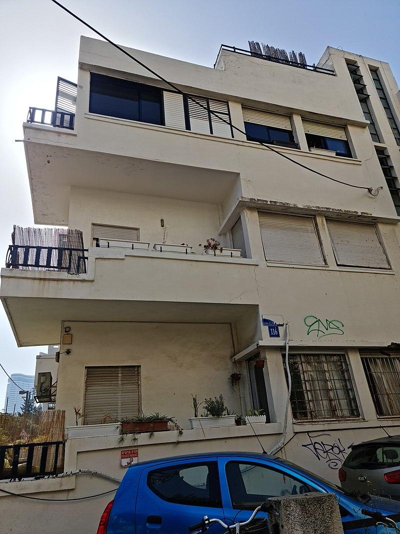 תל אביב בית קריגר רחוב אחד העם 116