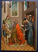 Pilate Washing His Hands by Fernando Gallego, 1480-1488, oil on panel - University of Arizona Museum of Art - University of Arizona - Tucson, AZ - DSC08406.jpg