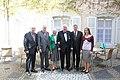 Pildil (paremalt) germanistikastipendiaat Kadre Lauri, suursaadik Mart Laanemäe, doktor Hartmut Lübbert ja proua Karin Lübbert (5639623617).jpg