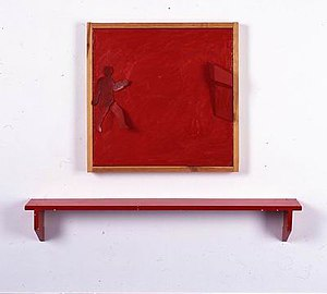 Pinchas Cohen Gan - Image: Pinhas cohen gan figure and correlated form with red shelf b 79 0743
