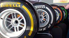 pneus Pirelli lors du GP de Grande-Bretagne 2013