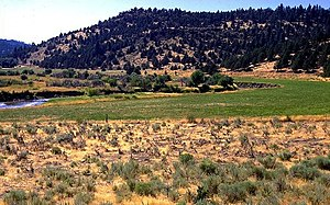 Modoc County, California - Image: Pit River Valley
