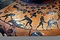 Pittore del louvre E739, hydria ricci, etruria (artigiani da focea), dalla banditaccia, 530 ac. ca., preparazione di sacrificio 02 uccisione maiale.jpg