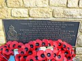 Plaque, Memorials, RAF Blakehill Farm, near Cricklade (3 of 3) - geograph.org.uk - 1732575.jpg