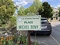 Plaque Place Michel Bony - Le Plessis-Trévise (FR94) - 2021-05-07 - 2.jpg