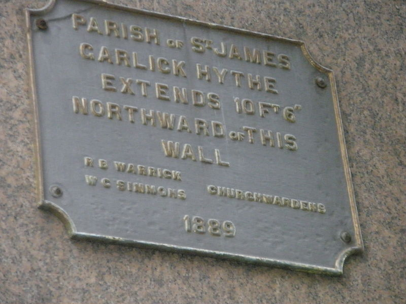 File:Plaque in Great Trinity Lane.JPG