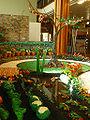 Plasticine garden centrepiece.jpg