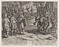 Plate 2- The Romans Taking Old Dutch Men as Hostages and Seducing Young Ones, from The War of the Romans Against the Batavians (Romanorvm et Batavorvm societas) MET DP863205.jpg