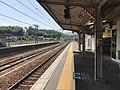 Platform of Nishi-Takaya Station 4.jpg