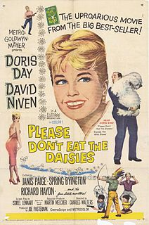 <i>Please Dont Eat the Daisies</i> (film) 1960 film by Charles Walters