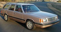 1988 Plymouth Reliant station wagon