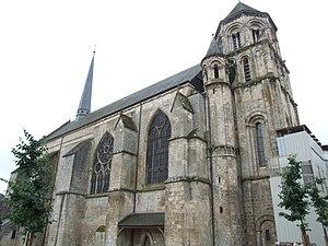 Church of Sainte-Radegonde (Poitiers) - Image: Poitiers Eglise Sainte Radegonde 1