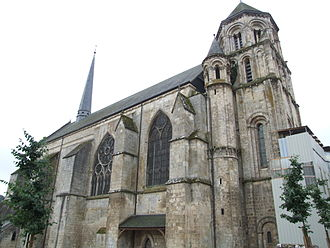 Church of Sainte-Radegonde (Poitiers) - Image: Poitiers Eglise Sainte Radegonde 1