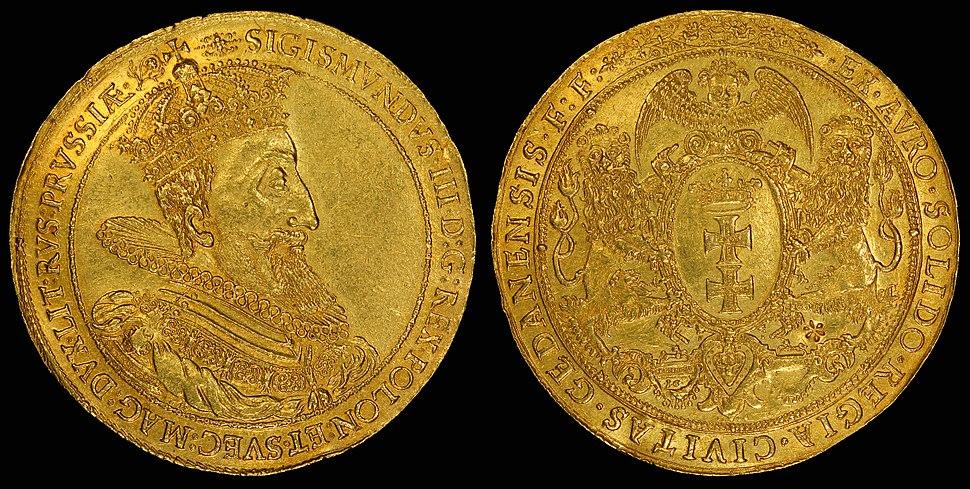 Poland-Danzig 1614 10 Ducats