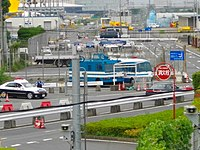 Police automobiles around Narita International Airport-2.JPG