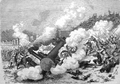 Polish January insurgents derail Russian military transport at Czyżewo 1863.PNG