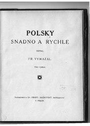 František Vymazal: Polsky snadno a rychle