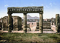 Pompeji um 1900 forum.jpg