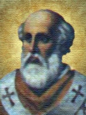 Pope Adeodatus II - Image: Pope Adeodatus II