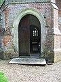 Porch, St Leonard's Church, Whitsbury - geograph.org.uk - 961573.jpg