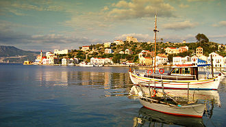 Kastellorizo - Image: Port of Castelorizo