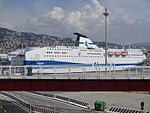 Port of Genoa - Sharden IMO 9305269 Tirrenia.jpg