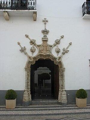 Olivenza - Manueline door of Olivenza town hall