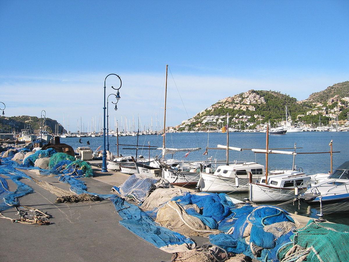 Puerto de andrach wikipedia la enciclopedia libre - Puerto de palma de mallorca ...