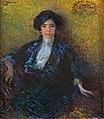 Portrait of Grazia Deledda by Plinio Nomellini, 1914.jpg