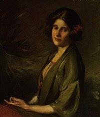 Portrait of Inez Bensusan 1924 by Cecil William Rea.jpg